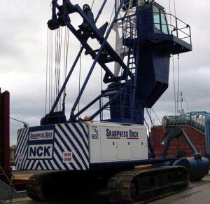 sharpdock crane
