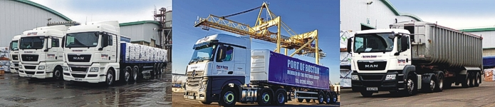Victoria Group - road transport services - some vehicles from our fleet