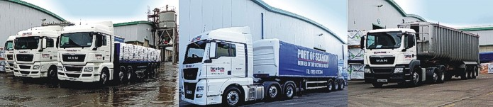 Victoria Group transport - some of our fleet